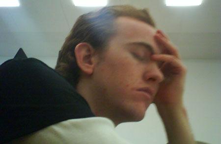 Johannes schläft