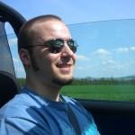 Mit Cabrio-Frisur im Cabrio unterwegs