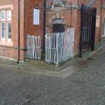 Strange Fence