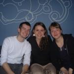 Jeremy, Katharina and Juliane