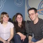 Natalia, Lucia and Manu